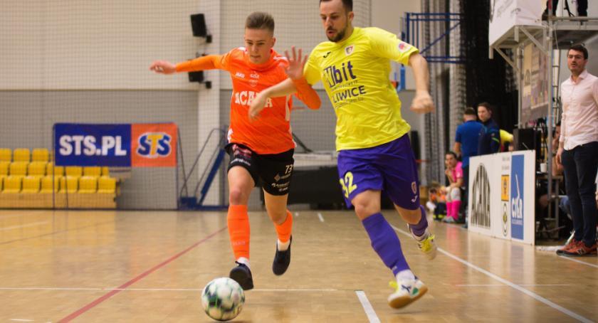 Futsal, tylko przerwy Orzeł zachowuje czyste konto meczu Piastem - zdjęcie, fotografia
