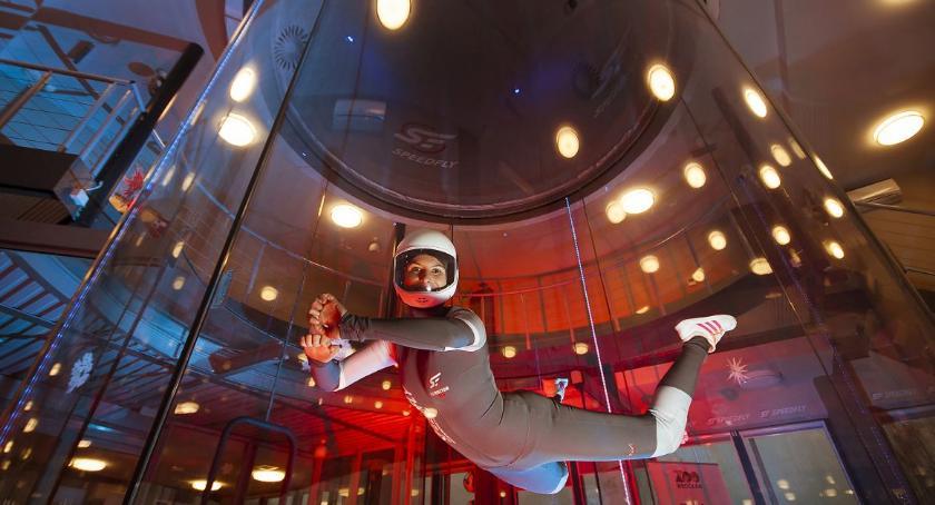 Ciekawostki, Poczuj adrenalinę! Wybierz tunelu aerodynamicznym Wrocławiu - zdjęcie, fotografia