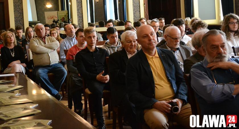 Edukacja, konferencja historyczna - zdjęcie, fotografia