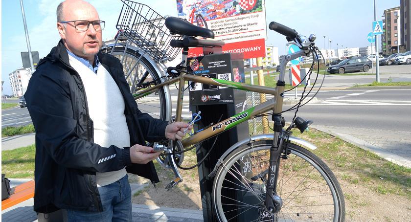 Mieszkańcy, Powstały kolejne stacje rowerowe - zdjęcie, fotografia