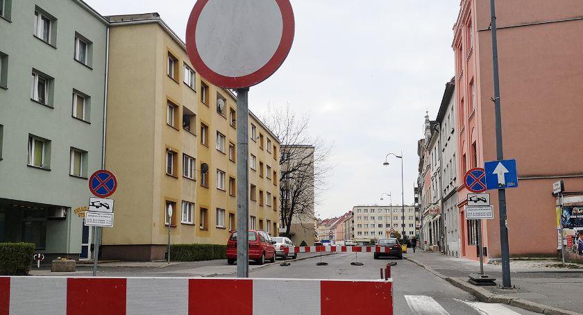 Komunikaty, Uwaga kierowcy Wrocławska zamknięta - zdjęcie, fotografia