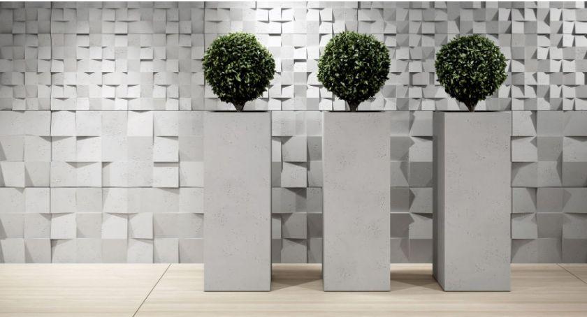 Ciekawoski, Duże donice nowoczesnych wnętrz Wypróbuj beton architektoniczny - zdjęcie, fotografia