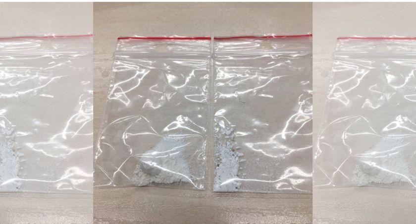 Kronika policyjna, latek zatrzymany amfetaminą - zdjęcie, fotografia