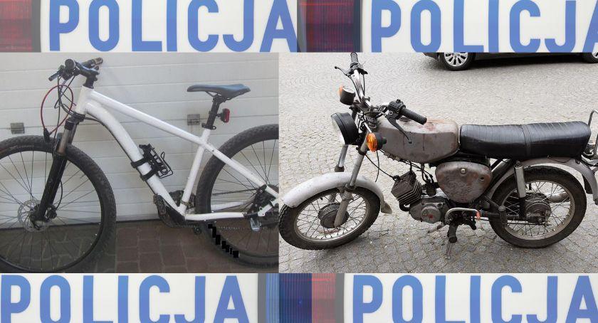 Kronika policyjna, Okradli garaż samochód dostawczy rękach policji - zdjęcie, fotografia