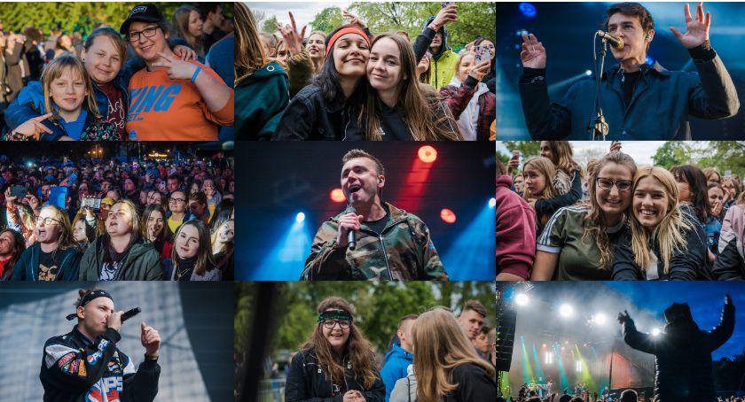 Koncerty, Gorąca oławska majówka Kamil Bednarek porwał tłum [GALERIA] - zdjęcie, fotografia