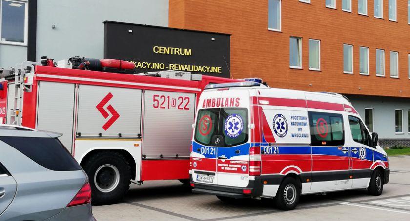 Akcje, Alarm bombowy Zespole Szkół Specjalnych Oławie - zdjęcie, fotografia