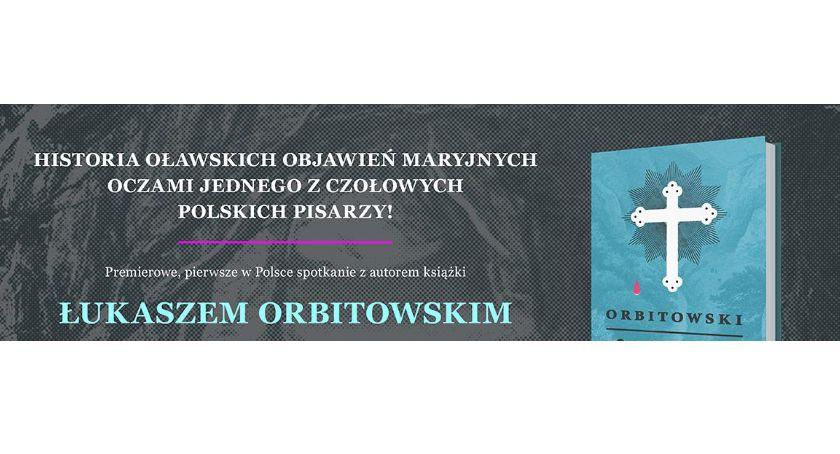 Wernisaże spotkania, Premiera książki Łukasza Orbitowskiego - zdjęcie, fotografia