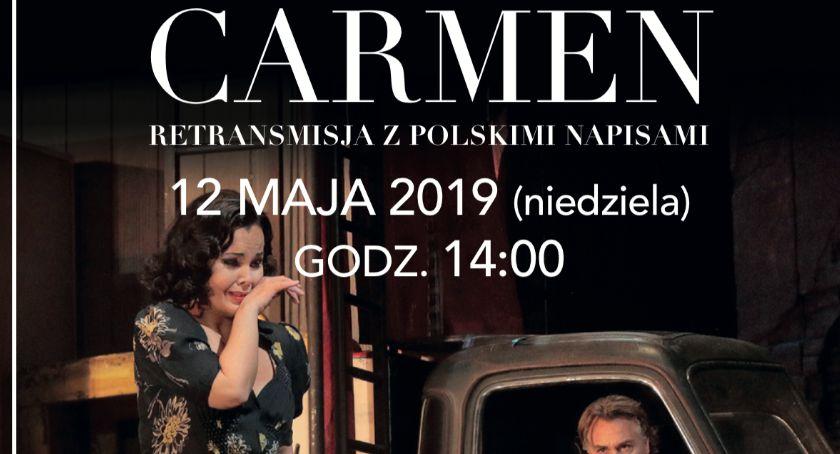 """Kino ODRA, Retransmisja """"Carmen"""" Aleksandrą Kurzak Kinie - zdjęcie, fotografia"""
