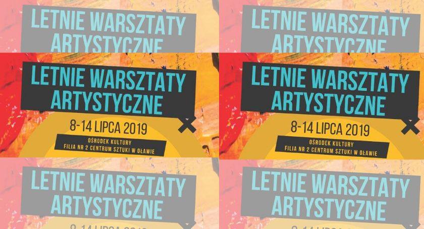 Centrum Sztuki w Oławie, Letnie warsztaty artystyczne - zdjęcie, fotografia