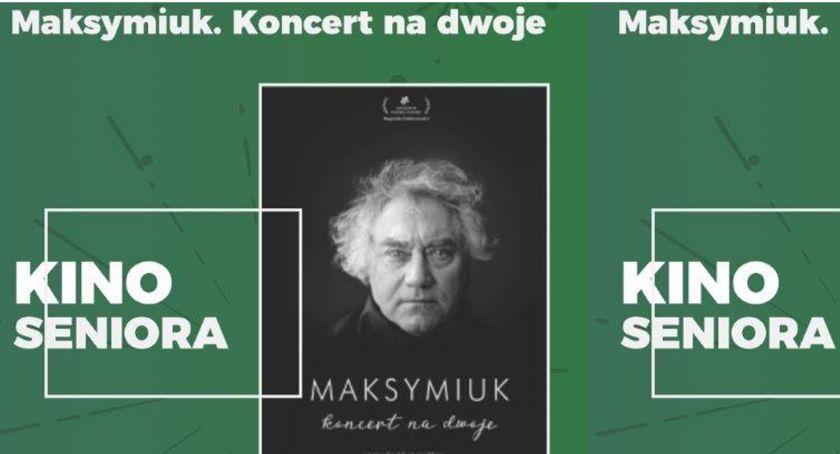 Kino ODRA, Majowe Seniora Maksymiuk Koncert dwoje - zdjęcie, fotografia