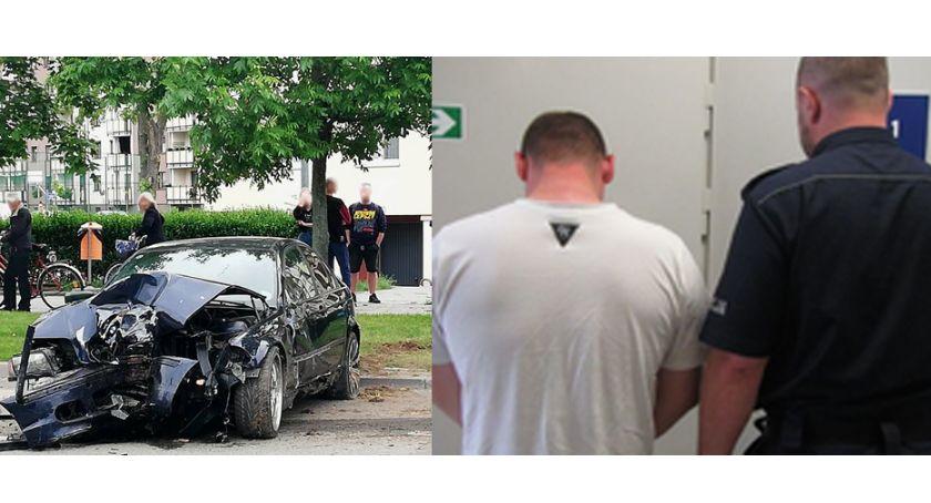 Wypadki drogowe, Spowodował kolizję miał zakaz kierowania pojazdami - zdjęcie, fotografia