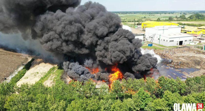 Pożary, wysypisko śmieci [VIDEO] [GALERIA] - zdjęcie, fotografia