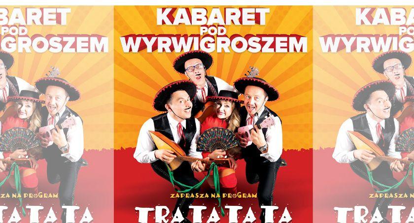 Kabarety, Kabaret Wyrwigroszem nowym programem Oławie - zdjęcie, fotografia