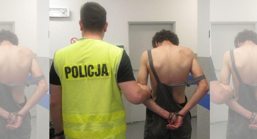 Kronika policyjna, Jadąc rowerem wyrwał kobiecie torebkę - zdjęcie, fotografia