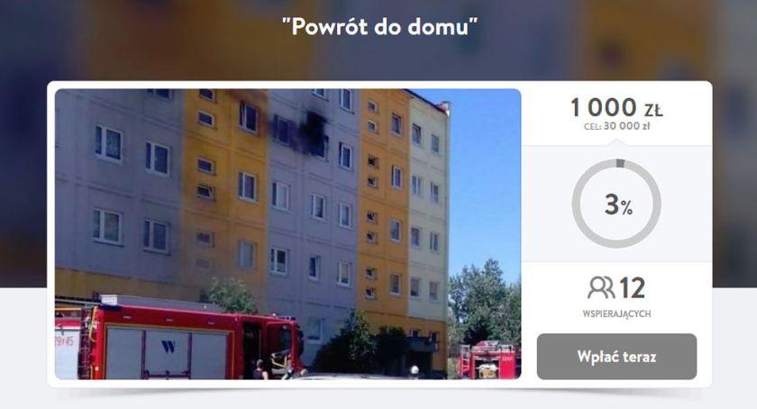 Mieszkańcy, Potrzebują pieniędzy remont pożarze - zdjęcie, fotografia