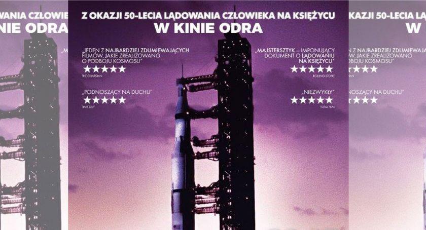 Kino ODRA, rocznicę lądowania pierwszego człowieka księżycu - zdjęcie, fotografia