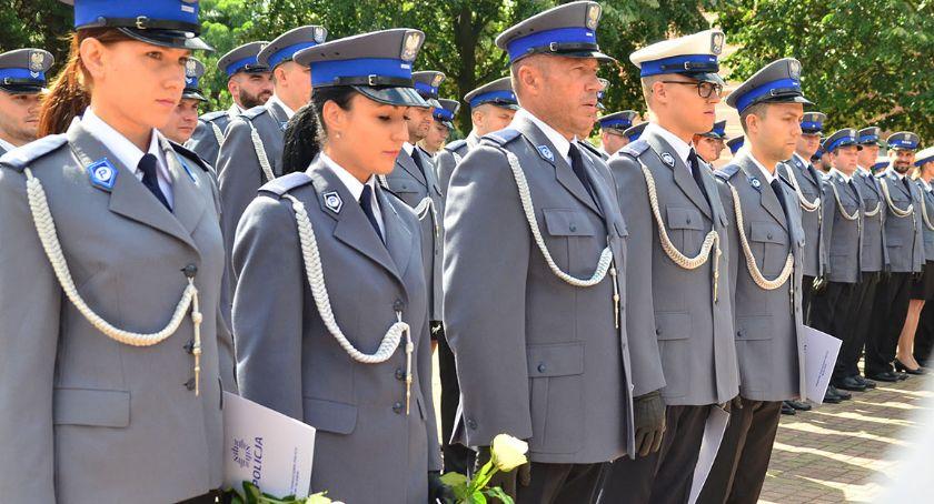 Uroczystości, Awanse nagrody podczas święta policji Oławie [ZDJĘCIA] - zdjęcie, fotografia