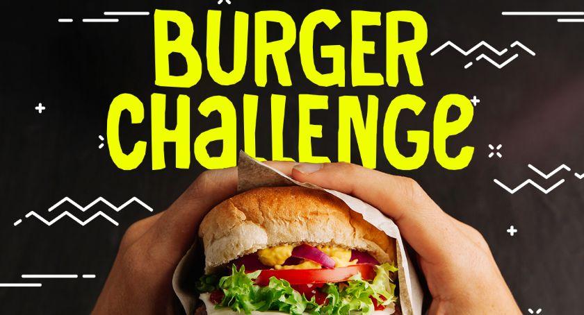 Mieszkańcy, Podejmij wyzwanie jedzeniu burgera czas! - zdjęcie, fotografia