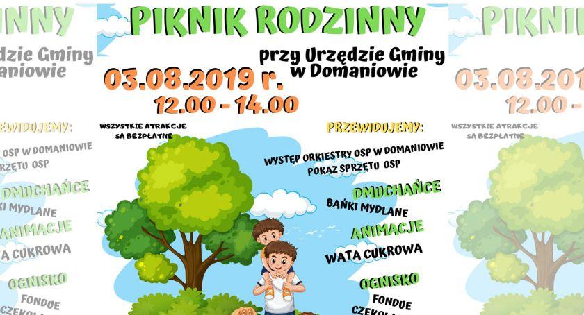 Gmina Domaniów, Rodzinny Piknik Domaniowie - zdjęcie, fotografia