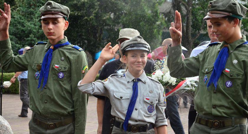 Uroczystości, Uczcili pamięć Powstańców - zdjęcie, fotografia
