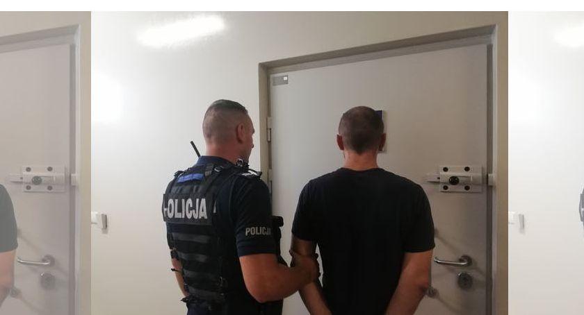 Kronika policyjna, Groził pracownikowi apteki pozbawieniem życia zdrowia - zdjęcie, fotografia