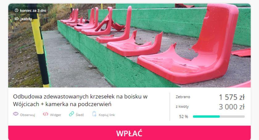 Mieszkańcy, Zdewastowali krzesełka Zalesie Wójcice odbudować - zdjęcie, fotografia