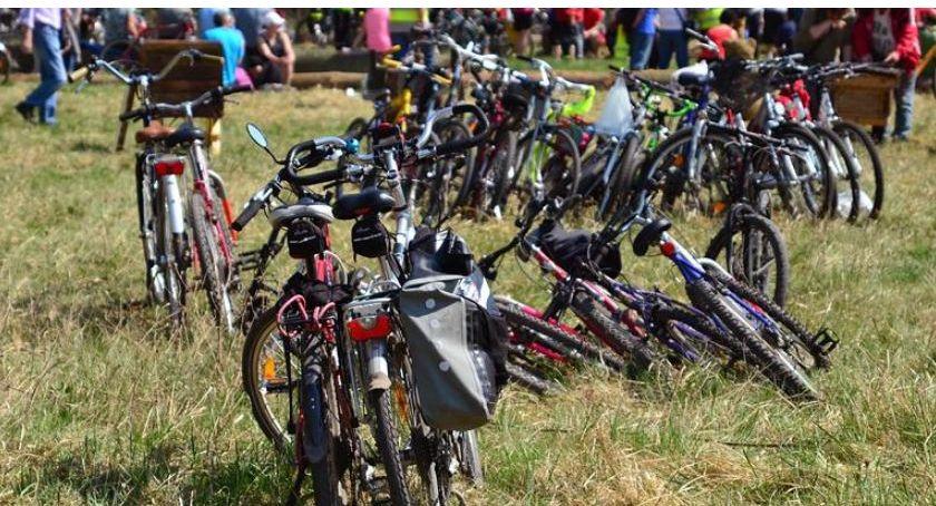 Mieszkańcy, Trzeci rowerowy Oławie okolicach - zdjęcie, fotografia
