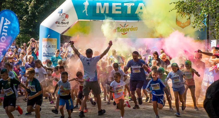 Bieganie, sportowo radośnie Kolorów [GALERIA] - zdjęcie, fotografia