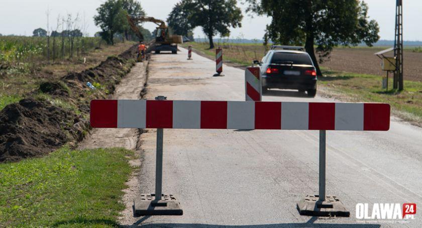 Inwestycje, Duży remont drogi powiatowej Wyznaczono objazd - zdjęcie, fotografia