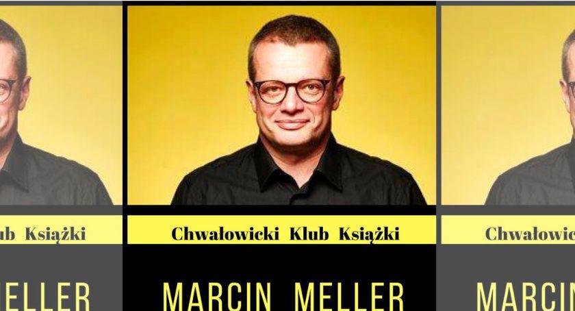 Wernisaże spotkania, Spotkanie autorskie Marcinem Mellerem - zdjęcie, fotografia