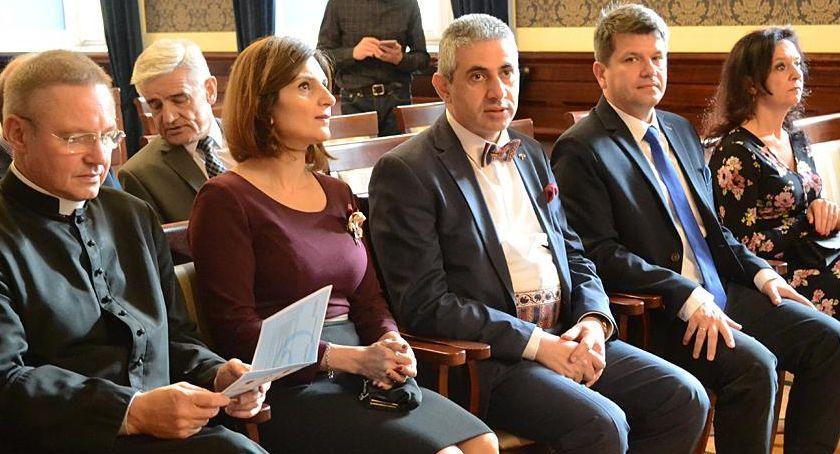 Uroczystości, Dzień Ormiański czwarty Oławie - zdjęcie, fotografia