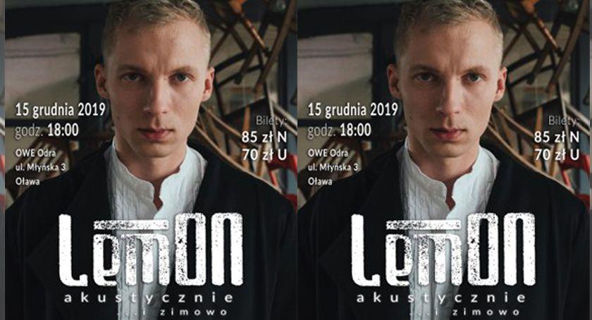 Koncerty, LemOn koncertem akustycznym Oławie - zdjęcie, fotografia