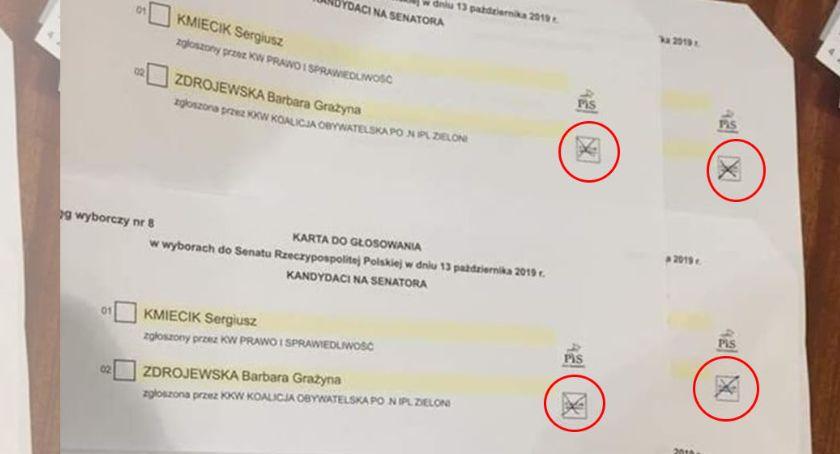 Ciekawostki, Wyborcy mieli problem zaznaczeniem odpowiedniej kratki - zdjęcie, fotografia