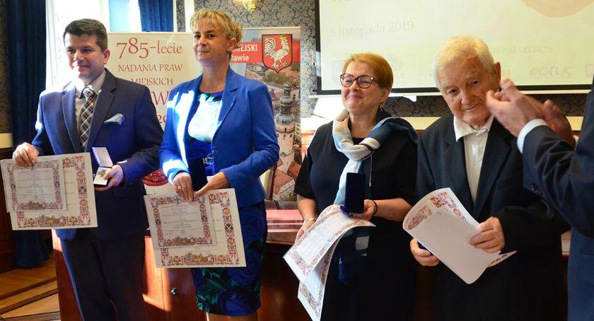 Mieszkańcy, Odznaczeni Krzyżem Obrony Lwowa konferencja historyczna - zdjęcie, fotografia