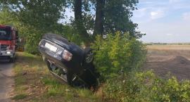 Pijany prowadził samochód, doprowdził do wypadku