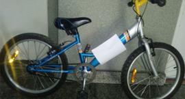 Policja znalazła dziecięcy rower