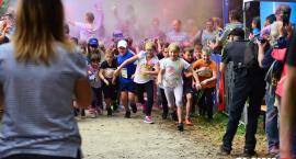 Kolorowo i na sportowo podczas biegu dla dzieci [ZDJĘCIA]