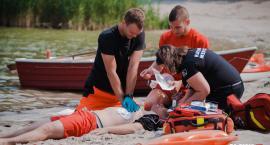 60-latek utopił się w stawie