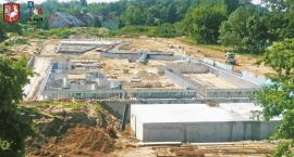 Trwa budowa basenu odkrytego