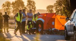 Tragiczny wypadek pod Owczarami. Nie żyje motocyklista