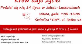 Druga akcja krwiodawstwa w Jelczu-Laskowicach
