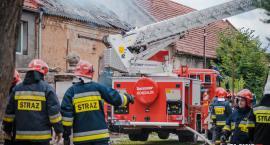 Pożar zabudowań w Piskorzowie