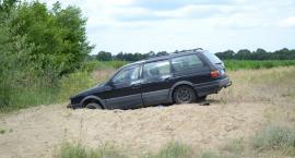 Skradziony samochód znaleziony pod Starym Górnikiem