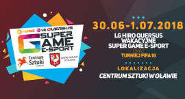 Wakacyjny SUPER GAME E-SPORT w Oławie