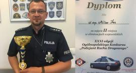 Miłosz Pelc najlepszym policjantem ruchu drogowego