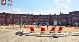 W mieście powstała sztuczna plaża