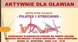 Pilates i streching dla aktywnych oławian