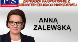 Minister Edukacji Narodowej Anna Zalewska w Oławie
