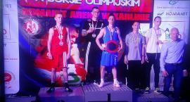 Mistrzostwa Polski Seniorów w Boksie - Wasyl Iskra na podium