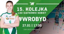 15. kolejka Ligi Siatkówki Kobiet w Jelczu-Laskowicach